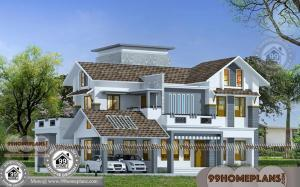 Double Story House Designs Indian Style & Modern Traditional Home Plan