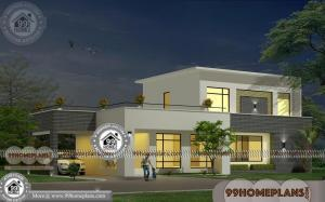 Double Story House Facades & Modern Home Collections & 3D Elevations