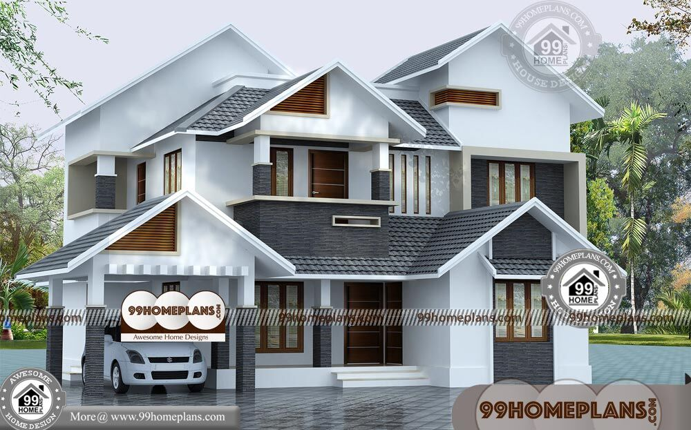 Awesome Front Design Of House In Indian Double Story Part - 11: Budget Of This House Is 36 Lakhs U2013 Front Design Of House In Indian Double  Story