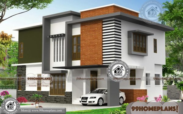 Indian Model House Plans 90 Double Storey Small House Plans Online