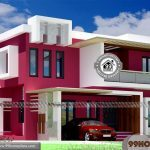 Kerala Box Type House with Double Story Good Looking Home Collections