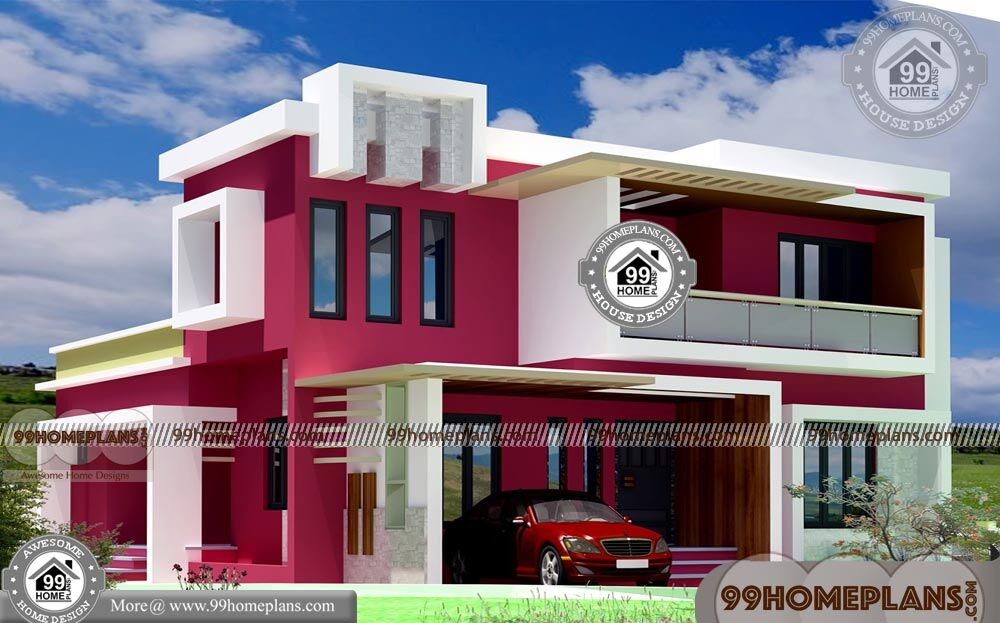 Kerala Box Type House With Double Story Good Looking Home