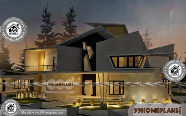 Kerala Home Design And Plans 80 Double Floor House Elevation Photos