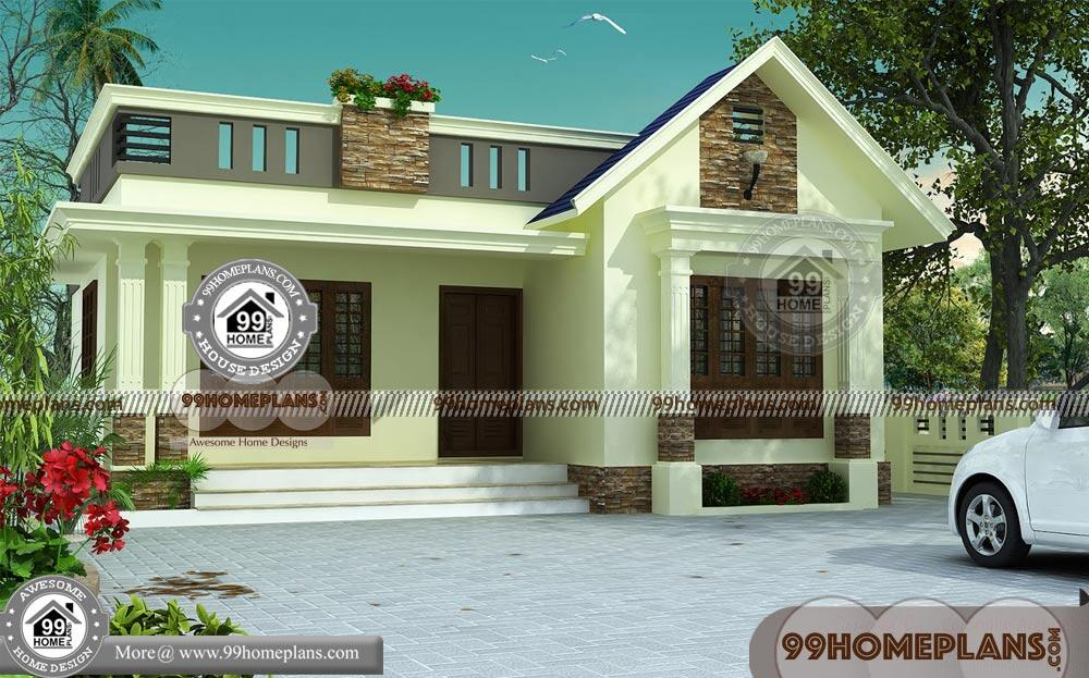 3 Bedroom Single Storey Budget House Part - 22: Indian House Design