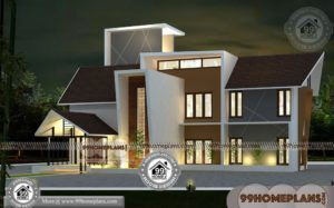 Kerala Home Plans and Designs 70+ Home Front Design Double Floor