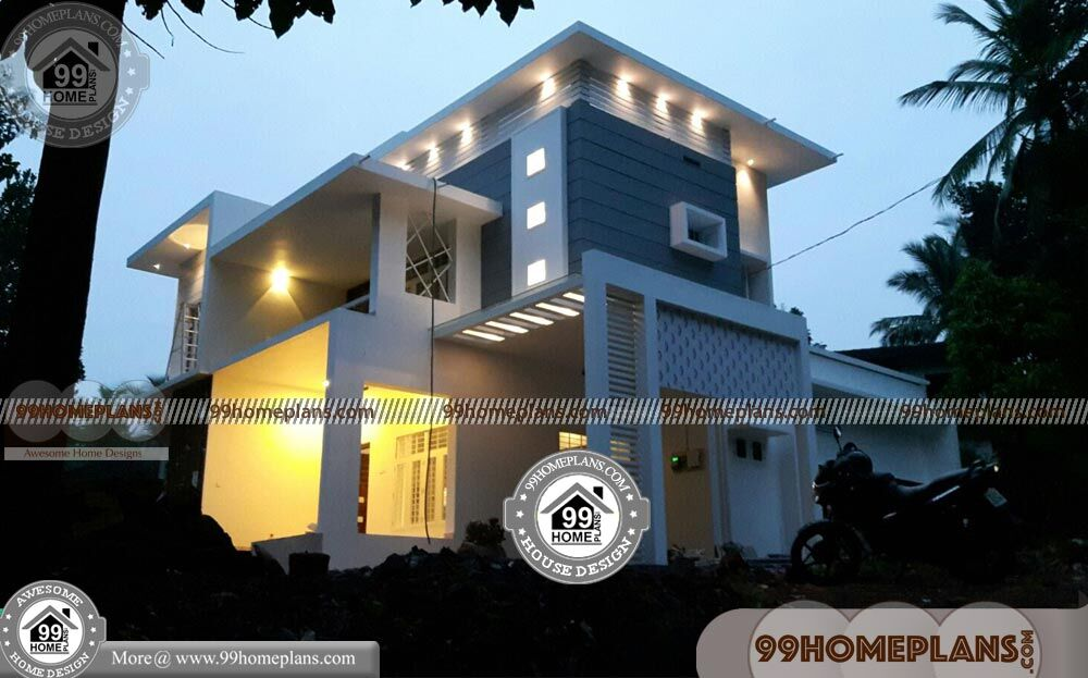 Kerala Model House Plans & Top Most Double House Plans Collections