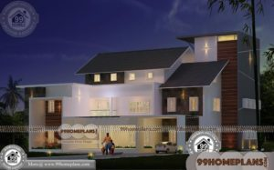 Kerala Style Homes Designs and Plans 80+ Double Floor House Plans