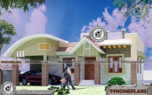Low Budget Single Floor House with Traditional Exterior Home Collections
