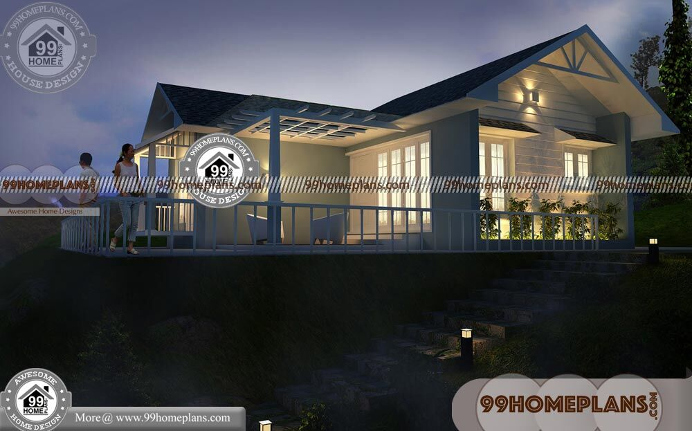 Luxury House Plans One Story 60+ Two Story Homes Designs Collections