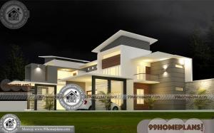New Kerala Model House Design | 50+ Double Story Homes & Villas
