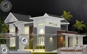 New Model House Kerala Style 65+ Small Two Storey Homes Collections