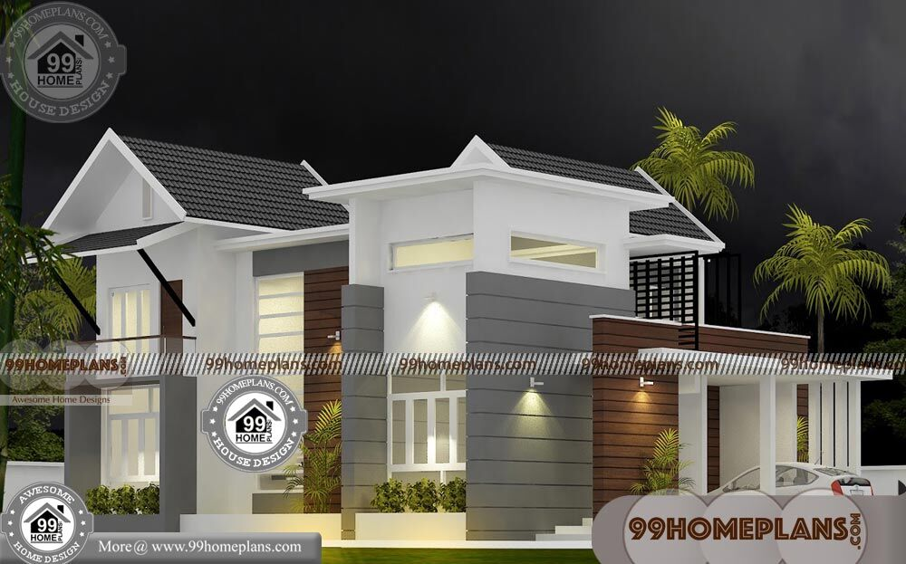 New Model House Kerala Style 65 Small Two Storey Homes Collections