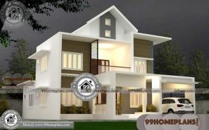 New Model Kerala Home Design | New Double Storey House Designs