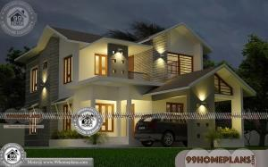 New Model Kerala House Plan Collections & Contemporary Home Design