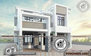 Small Box House Design with Double Floored Royal Look Home Collection