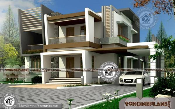 Double Storey House Elevations : Small double storey houses with d elevations very