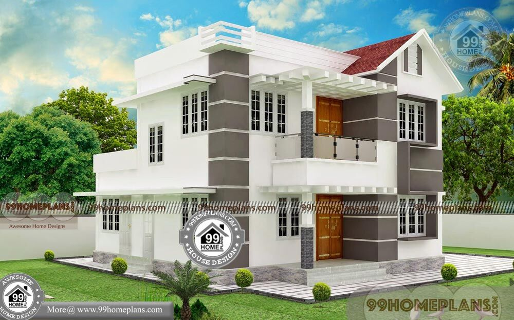 Small Traditional House Double Floored Spacious