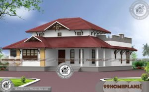 1 Storey House Plans with Traditional Pattern Spacious Home Collections
