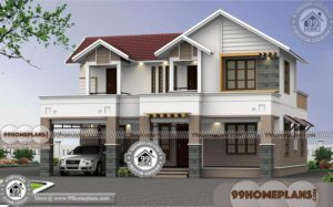 2 Storey Display Homes with Traditional Structural House Plan Collections