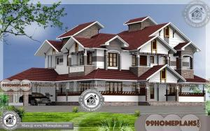 2 Storey Homes with 6 Bedroom Fusion Style Modern House Collections