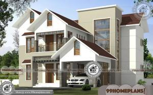 2 Storey House Design Plans | Free Modern House Floor Plans Online
