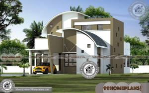 2 Storey House Floor Plan | Contemporary Style Modern Home Designs