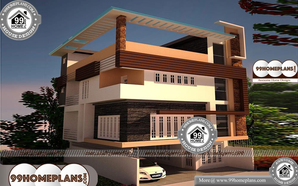3 Storey House Plans - 3 Story 3271 sqft-Home