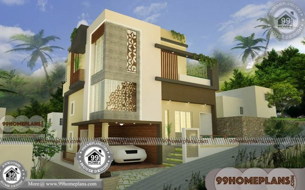 3 Floor House Elevation Designs with Exterior Interior Plan Collections