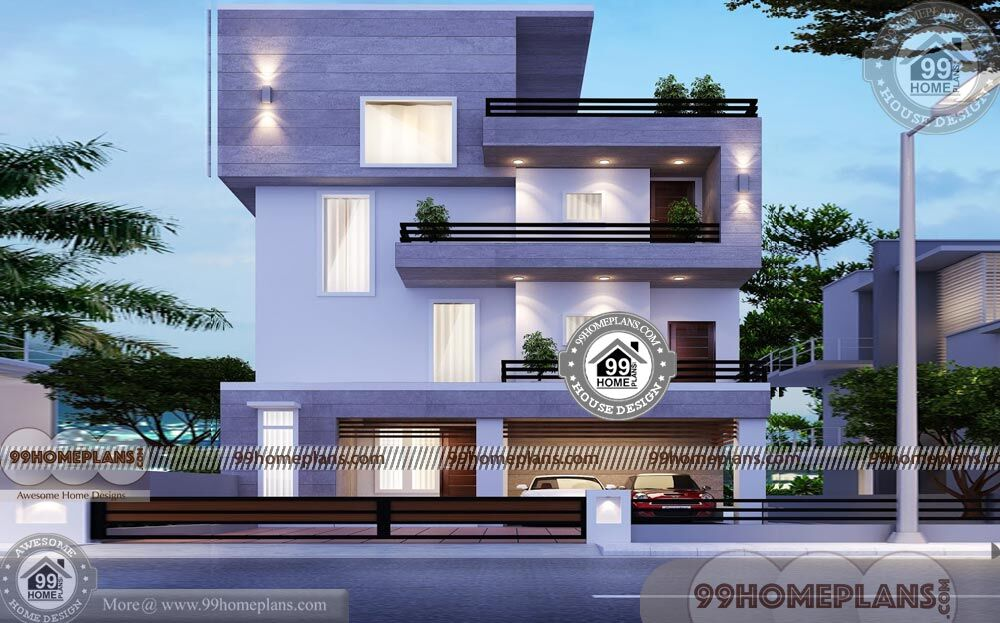 3 Storey House Plans For Small Lots 30 X 30 Narrow Space City Homes