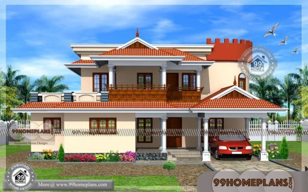 3D New House Plans Indian Style