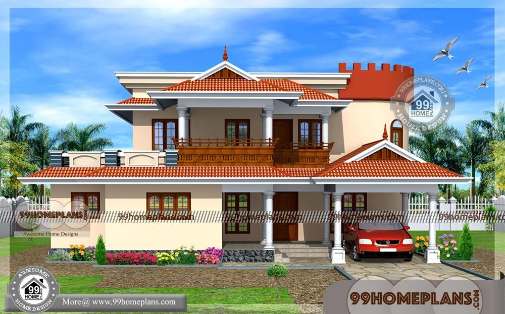 3D New House Plans Indian Style | 100+ Old Traditional House Designs