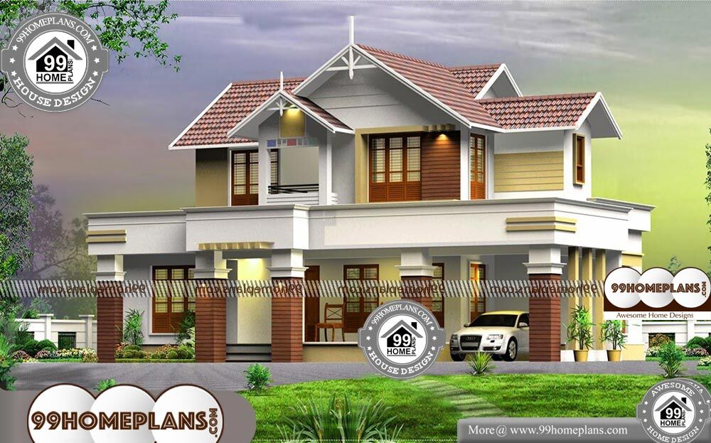 4 Bedroom 2 Story House Plans - 2 Story 2370 sqft-Home