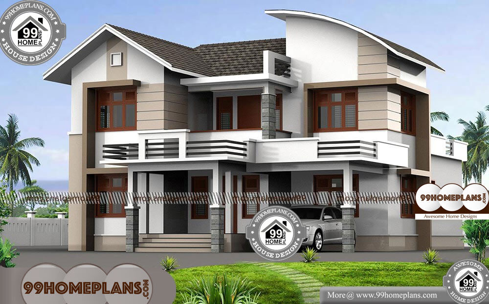 4 bedroom double storey house with best contemporary for Modern modular homes 4 bedroom