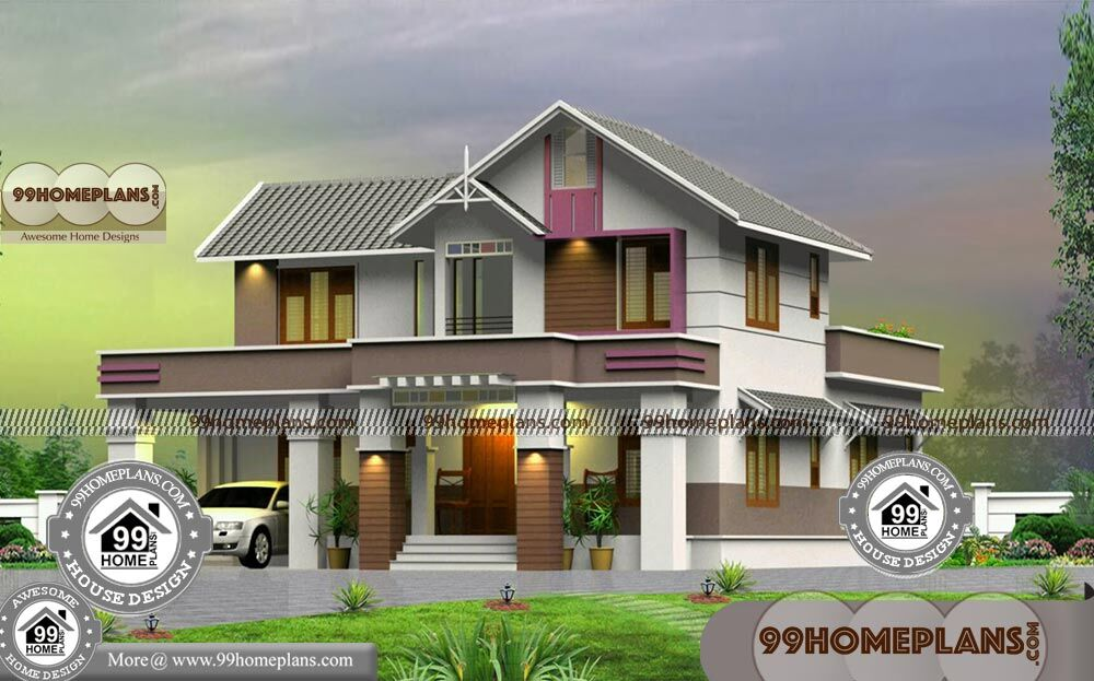 4 bedroom bungalow house designs two level traditional Traditional bungalow designs