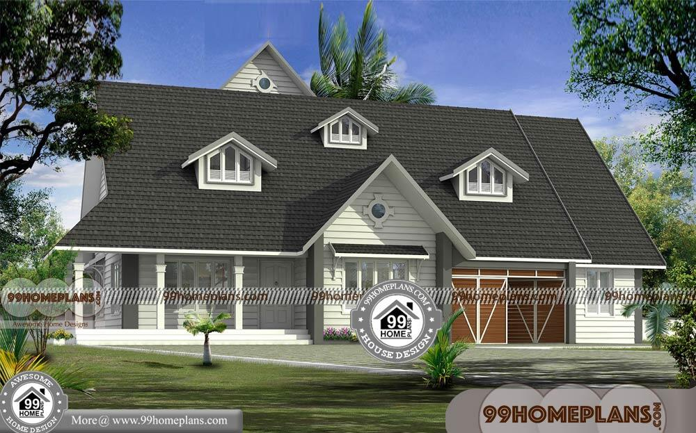 4 bedroom bungalow plan with european style gabbled roof homes for European style home builders