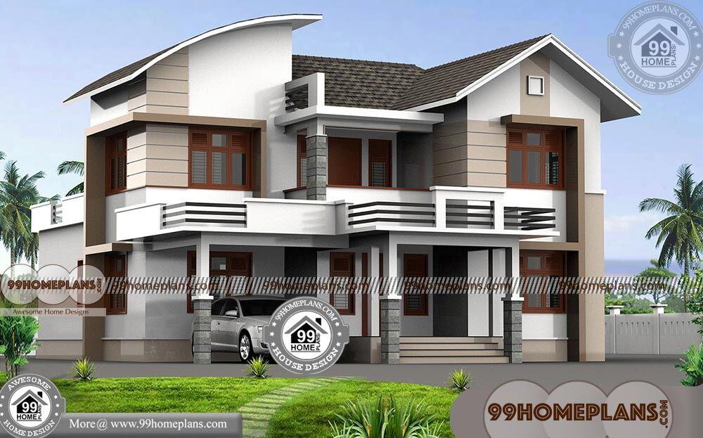 4 bedroom double storey house with best contemporary for 3000 sq ft modular home