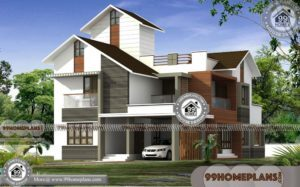 4 Bedroom Plans For A House with Double Story Trendy Design Photos