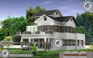 4 Bedroom Townhouse Plans with 3D Elevations | 2 Story Modern Designs