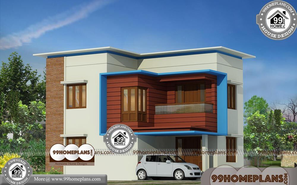 40 by 30 house plans with contemporary flat roof home for Modern house 40