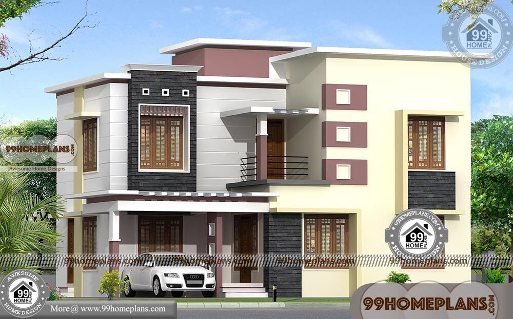 40 X 80 House Plans with Double Story City Style Modern ...