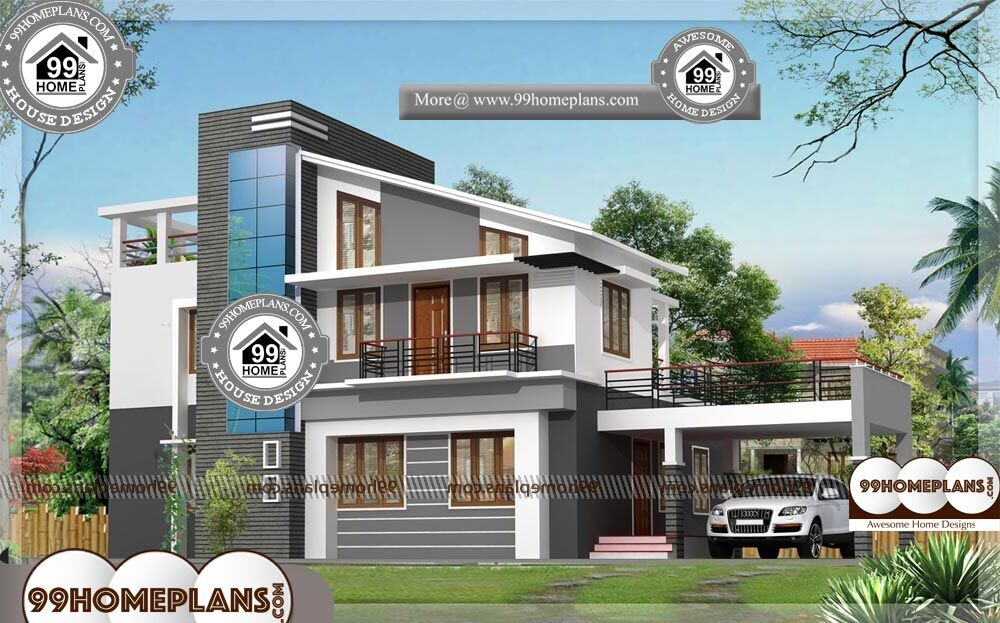 Best Houses In India - 2 Story 1925 sqft-Home