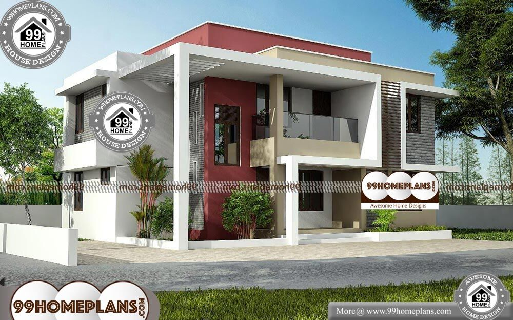 Box Type House Roofing - 2 Story 1616 sqft-Home