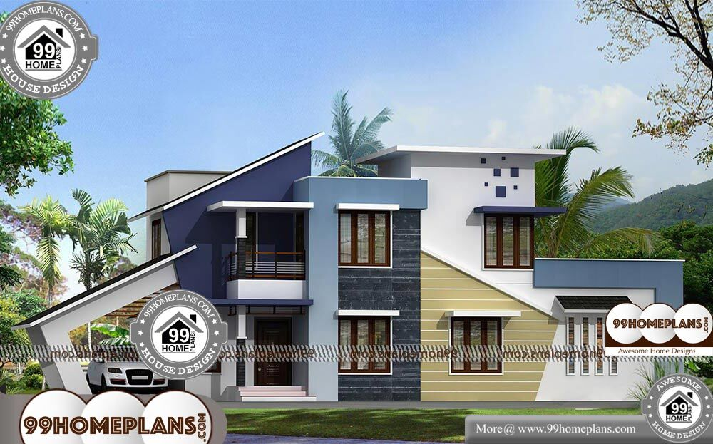 Brick And Stone House Plans - 2 Story 1918 sqft-Home