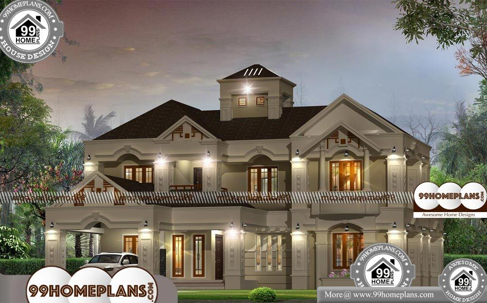 Bungalow Design Plan - 2 Story 4100 sqft-Home