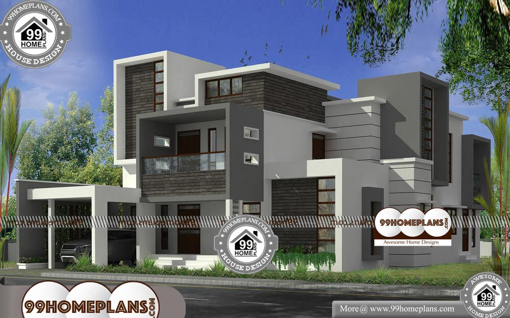 Bungalow House Modern Design - 2 Story 3005 sqft-Home