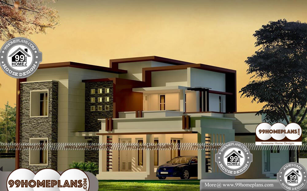 Contemporary Box House - 2 Story 2106 sqft-Home