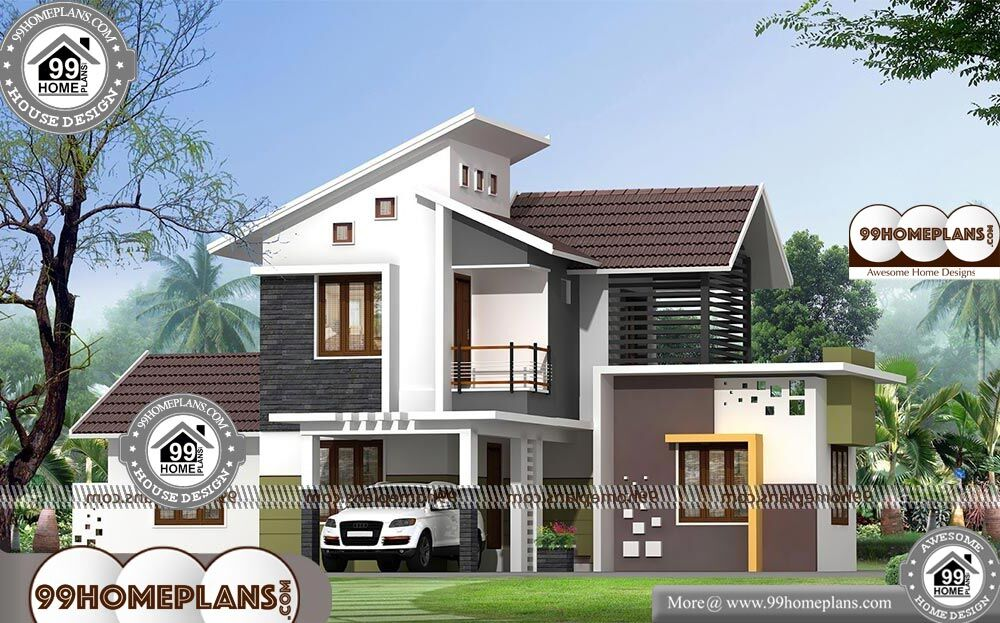 Contemporary Home Style - 2 Story 2047 sqft-Home