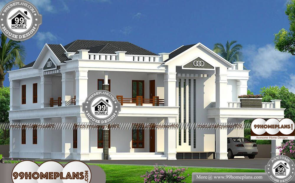 Double Story Bungalow Design - 2 Story 2998 sqft-Home