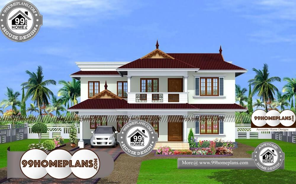 Dream home plans in kerala with estimate prices 2 storey for 2600 sq ft house cost