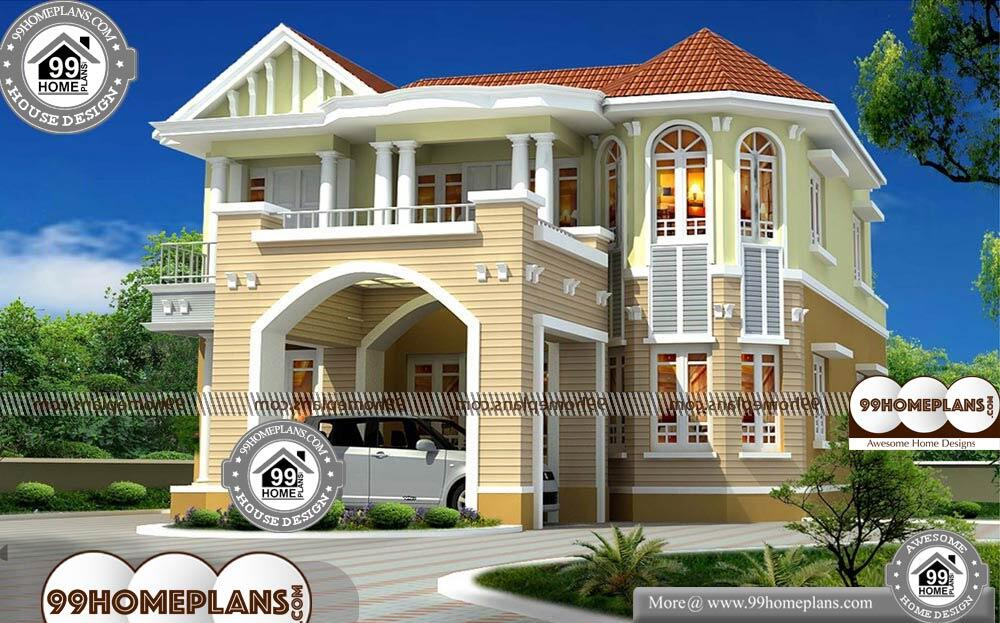 European Home Plans With Photos - 2 Story 2590 sqft-Home